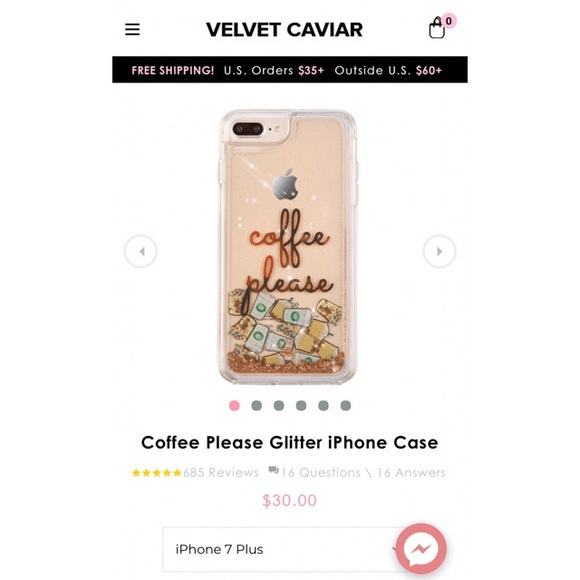 low priced 1b3e8 c5bb8 iPhone 7 Plus Case - Coffee Please